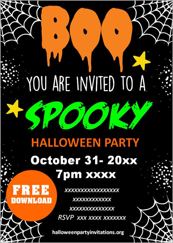 halloween party invitations ideas